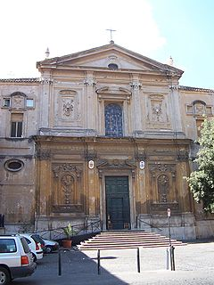 San Martino ai Monti church building in Rome, Italy