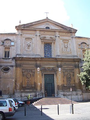 San Martino ai Monti - San Martino ai Monti façade