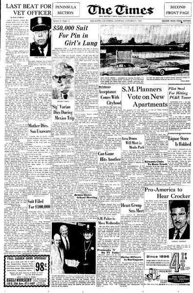 File:San Mateo Times October 21, 1961 page 13.pdf