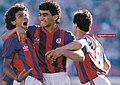 San lorenzo celebra gol 1989.jpg
