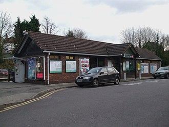 Sanderstead railway station - Sanderstead Station