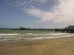 Der Sandown Pier