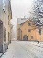 Sankt Hansgatan Visby i snöstorm.jpg