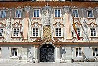 Sankt Veit an der Glan Hauptplatz 1 Rathaus S-Ansicht 26052007 01.jpg
