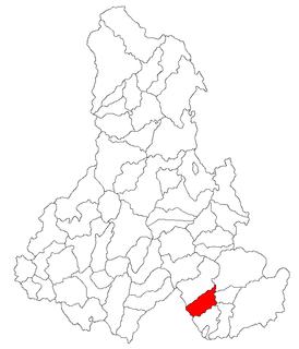 Sânsimion Commune in Harghita, Romania