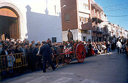 Main square: a local festival in honor of Saint Anthony