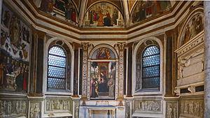 Basso Della Rovere Chapel (Santa Maria del Popolo) - General view