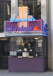 The Monica, on 2nd Street, remains a popular place to catch an artsy flick.