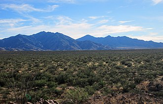 Santa Rita Mountains - Image: Santa Rita Mountains Arizona 2013