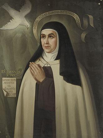 Eduardo Balaca - Portrait of Saint Teresa
