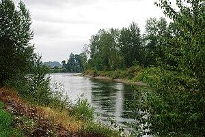 Santiam River - Near Interstate 5 in Linn County