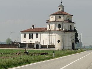 La chiesa-Santuario al Vallinotto