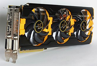 512-bit - The AMD Radeon R9 290X (Sapphire OEM version pictured here) uses a 512 bit memory bus