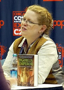 Monette at the Chicago Comic & Entertainment Expo in 2014