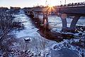 Sauk Rapids Regional Bridge over the Mississippi River, St. Cloud, Minnesota (23510130134).jpg