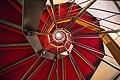 Scala a chiocciola di Palazzo Rosso dal basso.jpg