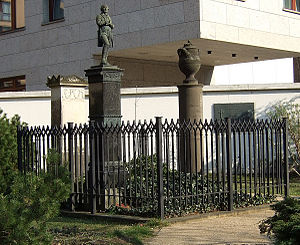 Johann Gottfried Schadow - Schadow's grave in Berlin