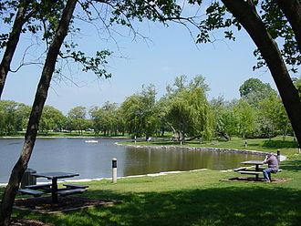 Schaumburg, Illinois - Lakeside at the Schaumburg Prairie Center for the Arts