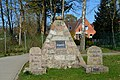Schleswig-Holstein, Hohenlockstedt, Denkmal für Bismarck, Roon, Moltke NIK 2337.JPG