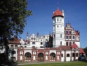 Basedow, Mecklenburg-Vorpommern - Schloss Basedow (Basedow Manor)
