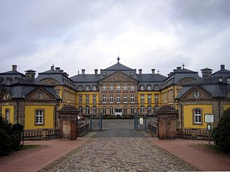 Principality of Waldeck and Pyrmont - Image: Schloss Arolsen