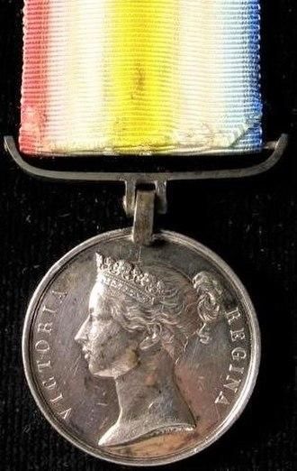 Scinde Medal - Image: Scinde Medal, 1843 obverse