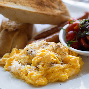 Scrambled eggs - Scrambled eggs