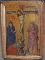 Scuola senese, cristo in croce tra i ndolenti, 1370-80 ca.JPG