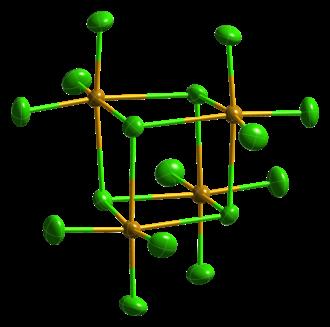Selenium tetrachloride - Image: Se Cl 4 from alpha xtal 1981 CM 3D ellipsoids
