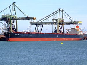 Sea Pull - IMO 9324112 - Callsign 3EIA6 , Mississippi harbour, Port of Rotterdam, Holland 20-Jun-2008.jpg