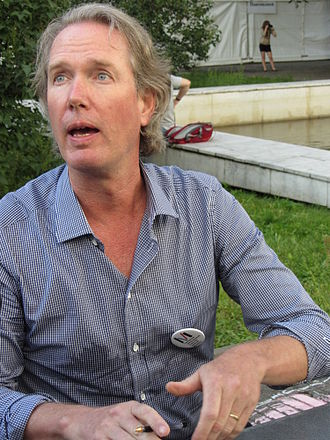John Seabrook - Seabrook at the 7 Moscow International Book Festival, 2012