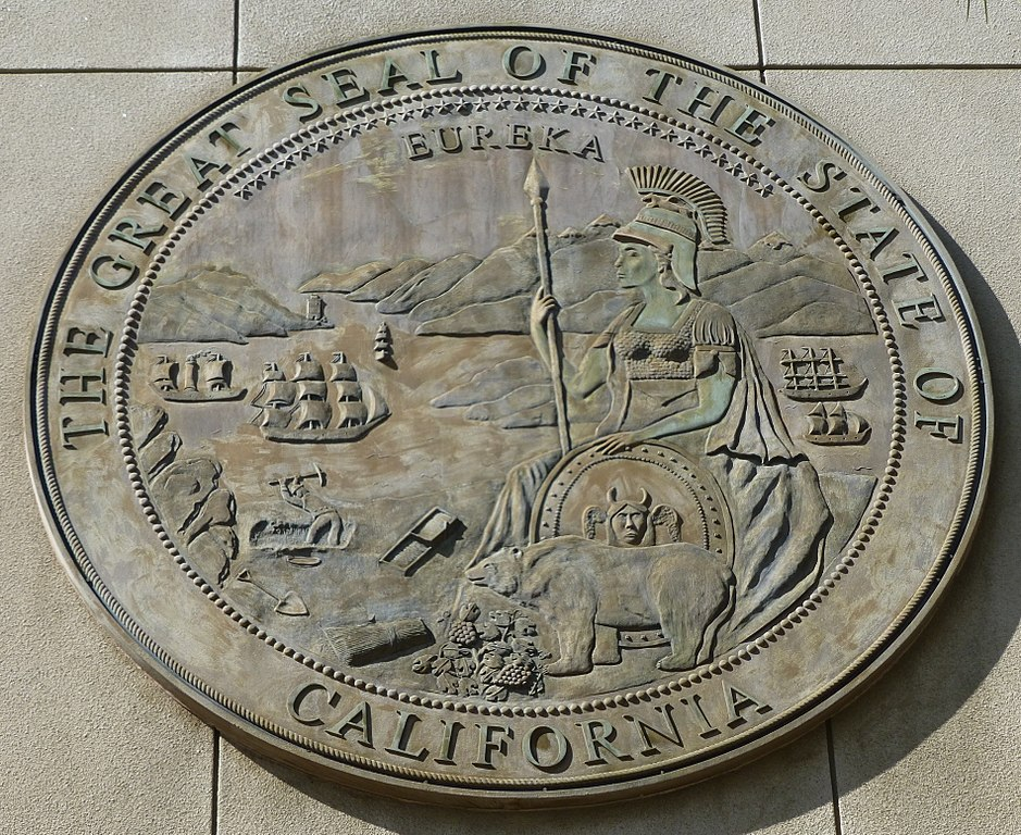 File:Seal of California, 1998, Riverside Family Law Court ...