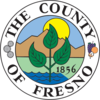 Fresno County, California官方圖章