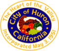 Seal of Huron, California.png