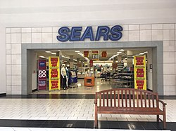 Sears wikipedia store closing sale at the sears in the dover mall in dover delaware in may 2018 the store will close in august 2018 colourmoves