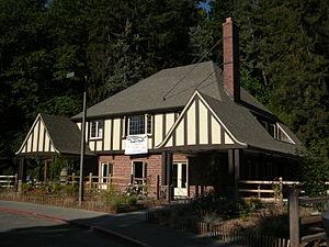 The recently restored Seward Park Inn, Seward ...