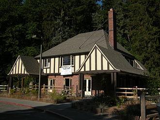 Seward Park (Seattle) - The Seward Park Inn, a Seattle city landmark.