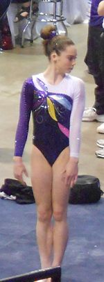 Maroney at the 2012 Secret U.S. Classic