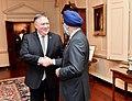 Secretary Pompeo Chats With Canadian Defense Minister Sajjan (45402936675).jpg