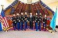 Secretary Pompeo With Marine Security Guard Detachment, U.S. Embassy Nur-Sultan (49475839538).jpg