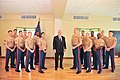 Secretary Tillerson Poses for a Photo with Marine Security Guards at the U.S. Embassy in Bangkok (36274756122).jpg