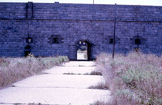 Fort Adams - Another section, 1968