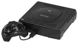 Sega Saturn CD - Cracked after 20 years - YouTube