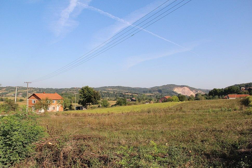 Selo Veselinovac - opština Valjevo - zapadna Srbija - panorama 12