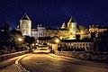 Semur-en-Auxois, Pont Joly, Blick auf die Zitadelle.jpg