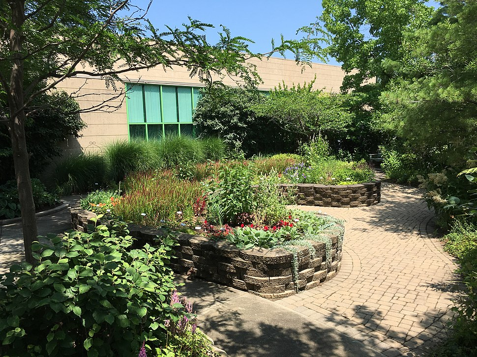 Sensory Garden at the Ohio Library for the Blind and Physically Disabled