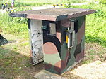 Sentry Box in Chiayi AFB South Exit 20120811.jpg