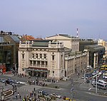 Serbia, Belgrade - National Theatre, 01.04.2011.jpg