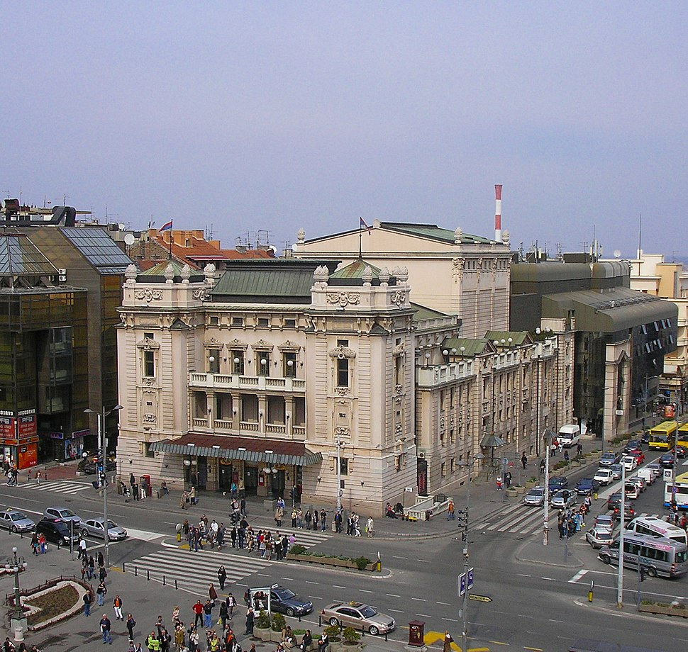 Serbia, Belgrade - National Theatre, 01.04.2011
