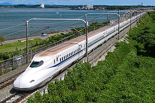N700 Series Shinkansen Japanese high speed train type